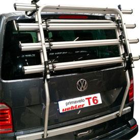 uebler hecktraeger fuer volkswagen t6 velototal das. Black Bedroom Furniture Sets. Home Design Ideas
