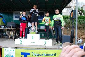 2ème Gouzi Timéo Ch Midi Pyrénées à Fontalba (81) Le 4 décembre 2016