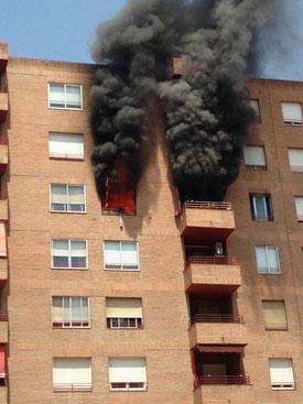 Incendio en tu edificio, ¿qué haces?