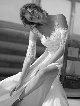 Anmutige Brautmode.