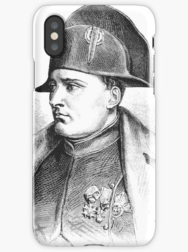 Napoleon Bonaparte, Geschichte, Feldherr, besonderes Design, außergewöhnlich, anders, especially, extraordinary, commander, general, france, French, iphone cover , mobil
