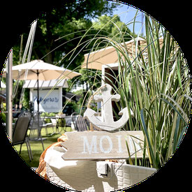 Meyers Gasthaus Maschen, Seevetal, Sommergarten