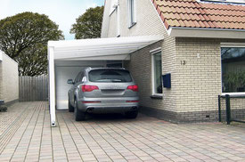 abris voiture avec toile tendue carport aluminium. Black Bedroom Furniture Sets. Home Design Ideas