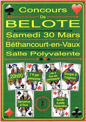 Affiche : Comité des fêtes Béthancourt-en-vaux.