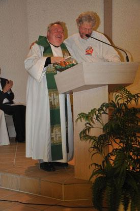 Pfarrer Werner Läuchli & Emil Landolt