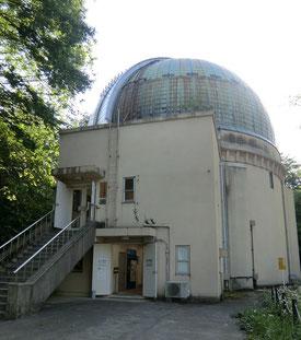 ●ラリーポイントの天文台歴史館(大赤道儀室)