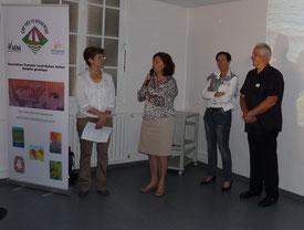 Ouverture de notre conseil scientifique en présence de Mme Laurence Tiennot-Herment, Présidente de l'AFM, et de Mme Viviane Viollet, Présidente de l'AMR (Alliance Maladies Rares).