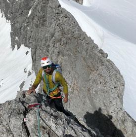 Dachstein Klettern Bergführer