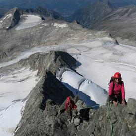 Großvenediger Nordgrat Bergführer