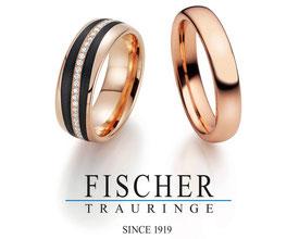 Fischer Trauringe bei Juwelier Kitt in Überlingen am Bodensee