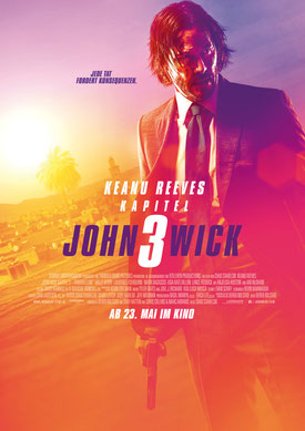 John Wick 3 Hauptplakat