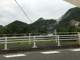 福岡県手乗りインコ小鳥販売店ペットミッキン 小倉の平尾台の三菱マテリアルの鉱山