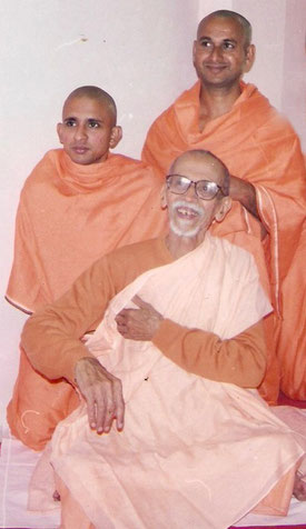 Swami Yatidharmananda mit Swami Chidananda - Yoga Nidra, Meditation und Kirtan Workshop bei Yamida Yoga und Meditation in Lüdinghausen