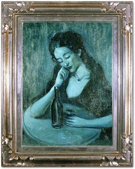 'Dama en Eden Concert' - Pablo Picasso (Etapa azul).