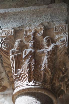 柱頭  キリストの洗礼