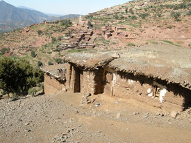 Dash mud brick built villages