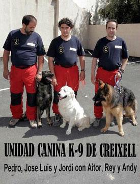Grupo de Rescate K-9 de Creixell.