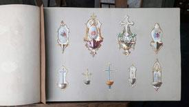 Catalogue des faïences Vieillard - Les bénitiers - XIXè siècle