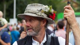 Almabtrieb in Finkenberg mit Marc Pircher und Rebellion im Zillertal
