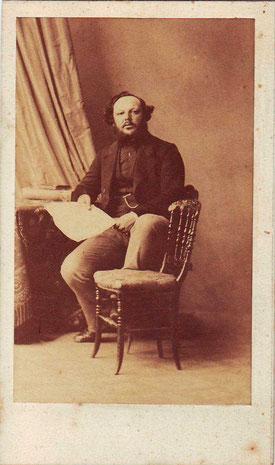 Ernest Seré-Depoin entre les années 1860-1869 (Archives municipales de Pontoise)
