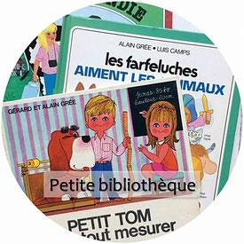 Livres et albums jeunesse vintage : Alain Grée, Daniel et Valérie, Marmouset...