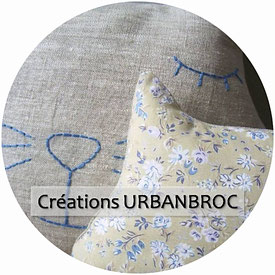Créations Urbanbroc fait main made in france pièces uniques upcycling