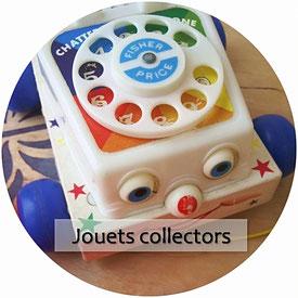 jouets et jeux vintage : Fisher price et autres collectors