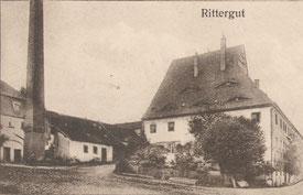 Bild: Rittergut Wünschendorf Erzgebirge Teichler