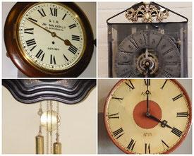 Aanbod antieke klokken