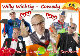 Willy Wichtig ist Comedy