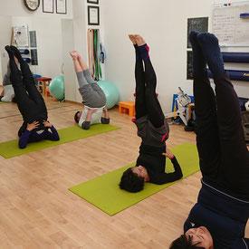 昨年秋ごろから「女子トレーニング部」が始まり、今では10名を超える部員数に!