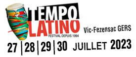 Festival Tempo Latino à Vic-Fezensac dans le Gers, terre de festivals, en Occitanie, à 5 minutes de Lassenat éco-maison d'Hôtes en Gascogne, chambre d'Hôtes de charme, table d'hôtes gourmande, bio et locavore, écotourisme et slowtourisme.