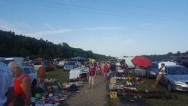 Markt in Ředhošt