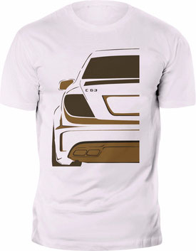 AMG T-Shirt,Mercedes C-klasse T-Shirt,Mercedes Tuning T-Shirt