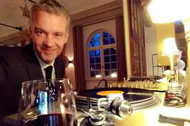 jazz tijdens diner met meneer funkel