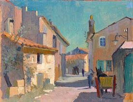 Szene in Fontvieille, Provence