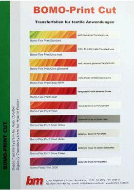 bedruckbare Folien, Bomo-Flex Print Standard 50