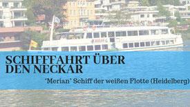 Schifffahrt Heidelberg DJ Firmenfeier