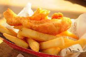 Classic fish & chips, wraps, burgers and gluten free options