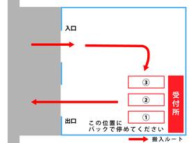 茅ヶ崎市資源部別回収協同組合搬入案内図