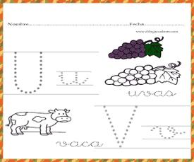 uvas con u
