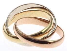 Drie-eenheid ring
