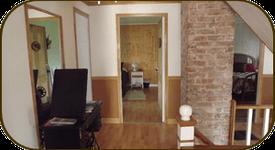 escalier menant aux chambres
