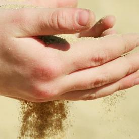 土は安全で清潔