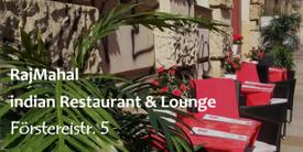 Außensitzplätze von RajMahal - indian Restaurant & Lounge (Förstereistr. 5, 01099 Dresden)