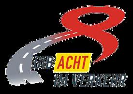 Das neue ab sofort geltende Logo der Initiative Gib Acht im Verkehr