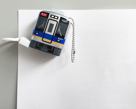 メジャー 電車型/バス型 メモ留めマグネット