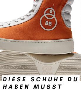 Schuh aus der fairen und nachhaltigen Star-Wars-Kollektion des Londoner Labels Po-Zu