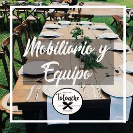 Mobiliario y Equipo para renta en Cuernavaca  Morelos