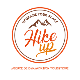 logo: Hike up, Upgrade Your place! - agence de dynamisation touristique - tourisme durable